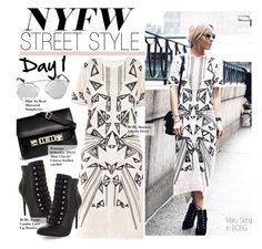 """""""NYFW Street Style-Day 1"""" by kusja ❤ liked on Polyvore featuring Proenza Schouler, BCBGMAXAZRIA, Christian Dior, StreetStyle, NYFW, BCBGmaxazria, newyorkfashionweek and PolyvoreNYFW"""