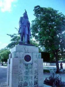 Monumento a Benito Juárez.