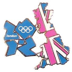 Price: $7.95 - London 2012 Summer Olympics Country w/ Union Flag Pin - TO ORDER, CLICK THE PHOTO