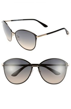 4bf1a8c083b Main Image - Tom Ford Penelope 59mm Gradient Cat Eye Sunglasses Tom Ford  Eyewear