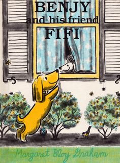 my vintage book collection (in blog form).: Benjy and his friend Fifi - illustrated by Margaret Bloy Graham