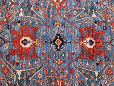 Blue Bidjar - Oriental Rugs - Nomad Rugs