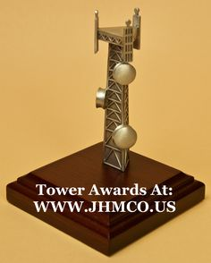 Telecommunications gifts for tower climbers. John H. Tower Climber, Tower Models, Award Plaques, Climbers, Tatt, Awards, Phone, Projects, Gifts