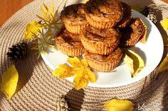 Muffinki dyniowe z kawałkami czekolady. Pumpkin muffins with chocolate chips. www.marciatime.pl