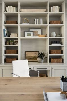 PC Contemporary Project: Office Mudroom & Laundry Room Home Office Space, Home Office Design, House Design, Office Spaces, Living Room Inspiration, Interior Design Inspiration, Mudroom Laundry Room, Studio Mcgee, Home Furnishings