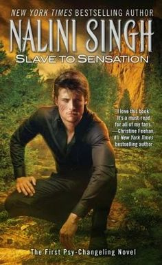 Slave to Sensation by Nalini Singh (Psy-Changeling Series #1)  Action intense, burning the pages with explosive romance, and in my opinion topping the paranormal genre, Sacha and Lucas' story is sure to hook you instantly.  http://tometender.blogspot.com/2015/05/slave-to-sensation-by-nalini-singh-psy.html