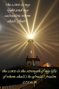 Second Sunday of Lent 'The Lord is my Light and, my help; whom shall I fear?' Psalm 27:1