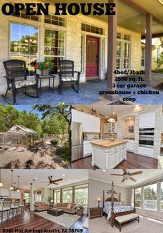 Open House - 8301 Hot Springs Austin, TX 78749. Listed by: Kent Redding, Berkshire Hathaway HomeServices Texas Realty. kent@callkent.com