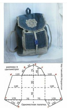mini sac a dos- aude laure - Auto Modelle This post was discovered by Pe mini sac a dos Idea backpack for recycling jeans. 5 Fantastic Bags Made with Recycled Jeans – Free Guides Recycling jeans for a bag Jean bag Great idea to make a jean handbag. Mochila Jeans, Blue Jean Purses, White Purses, Denim Backpack, Backpack Bags, Denim Handbags, Coach Handbags, Bags 2017, Denim Crafts