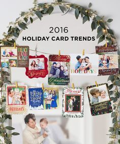 Here are the top 2016 holiday card trends. From foil to popout, browse a variety of card designs to make your holidays extra special. Personalize your holiday card at Shutterfly. Christmas Card Display, Little Christmas, Winter Christmas, Merry Christmas, Christmas Decorations, Shutterfly Christmas Cards, Christmas Lights, Xmas, Christmas Projects