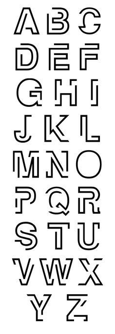 Maze - Free Font by Font Soup, via Behance Graffiti Lettering Fonts, Creative Lettering, Lettering Styles, Lettering Design, Cool Lettering, Cool Fonts Alphabet, Hand Lettering Alphabet, Alphabet Design, Font Styles Alphabet