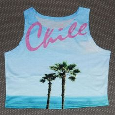 women summer crop top printed Sexy lady loved design bird pineapple palm tree chile letter beach dog cotton blends fabric TS-079