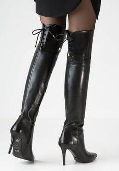 Diese Overknees betonen gekonnt deine Beine. Buffalo High Heel Stiefel - preto für 199,95 € (09.10.16) versandkostenfrei bei Zalando bestellen.