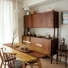 aurinkoさんの、さくら,もみの木のかご,白樺かご,イッタラ,アーコール,北欧,北欧テイスト,北欧ヴィンテージ,かご収納,My Desk,のお部屋写真