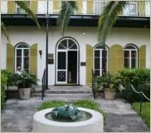 Ernest Hemingway, his wife, Pauline and their 2-sons, Patrick and Gregory lived together on this estate from 1931-1940.