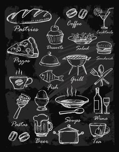 Crushed image of cow / meat menuCrushed image of cow / meat incredible restaurant design projectsliving with classics .Items similar to COFFEE SHOP CHALKBOARD / kitchen table // restaurant table // menu board / Blackboard Art, Chalkboard Lettering, Chalkboard Designs, Chalkboard Restaurant, Chalkboard Walls, Chalkboard Ideas, Restaurant Icon, Restaurant Design, Chalk Wall