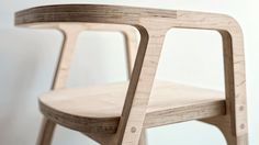 plywood furniture run CNC frza - Shapermade Plywood Table, Plywood Furniture, Furniture Plans, Cool Furniture, Furniture Design, Furniture Stores, Wood Chair Design, Plywood Design, Rack Tv