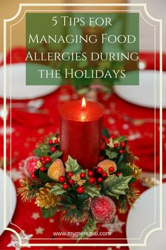 The holidays are a wonderful time for celebration but can be stressful for those with food allergies. These 5 tips can help everyone enjoy safely. Healthy Kids, Healthy Recipes, Registered Dietitian Nutritionist, Kid Friendly Meals, Food Allergies, Nutrition Tips, Wonderful Time, Holiday Recipes, Celebration