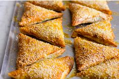 Borek pastry with ground meat, leeks, veggies and spices