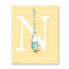 N - NECK, yellow