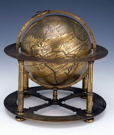 Terrestrial table globe - National Maritime Museum,1700's