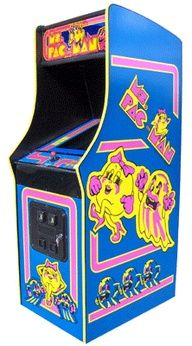 Ms. Pacman Arcade Game