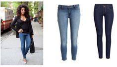 Si eres petite, los jeans súper ajustados o tipo skinny son los mejores!