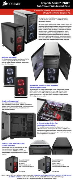 graphite series 760T full-tower Windowed case