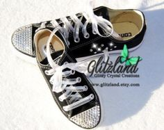 Swarovski Converse Mommy and Me Black / White blinged with SWAROVSKI® Crystals Black And White Girl, White Girls, Nike Air Max Tn, Air Jordan Shoes, Kids Fashion, Women's Fashion, Mommy And Me, Nike Shoes, Swarovski Crystals