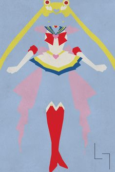 """""""Fighting evil by moonlight,  Winning love by daylight,  Never running from a real fight,  She is the one named Sailor Moon.""""  -Sailor Moon"""