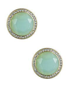 Danielle Stevens - Lily Chalcedony stud earrings