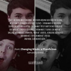 "I'm reading ""Changing Minds: a Phanfiction"" on #Wattpad. https://www.wattpad.com/159690365?utm_source=ios&utm_medium=pinterest #fanfiction #quote"