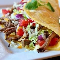 """Green Chile Beef Tacos 
