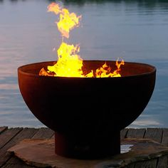 Eclipse Wood Burning Fire Pit | WoodlandDirect.com: Outdoor Fireplaces: Fire Pits - Wood, Fire Pit Art