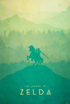 The Legend of Zelda: Warrior Poster - Created by Edward Moran I