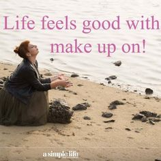 @robinsandunicorns • Instagram photos and videos   That's right, beauties! Life feels good with makeup on!  http://www.asimplelifecosmetics.com wishes #happywednesday to everyone! #lifeisbeautiful #lifefeelsgood #makeup #organic #natural #handmade #cosmetics #vegan #vegetarian #fallinlovewithyourself