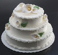 Fake Food Wedding Cake