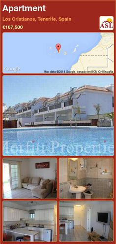 Apartment in Los Cristianos, Tenerife, Spain ►€167,500 #PropertyForSaleInSpain