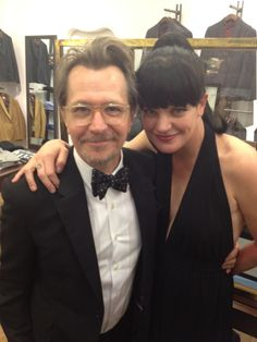 Pauley Perrette and Gary Oldman!