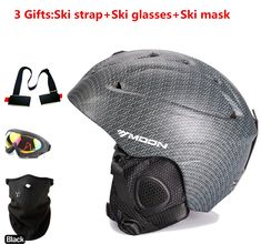sale free shipping authentic ski helmet extreme sports protective gear veneer double plate warm wind snow #ski #gear