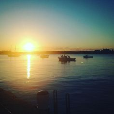 Stunning sunset @ Warrnambool wharf  #sunset #stunning #warrnambool #fishing #beautiful #whataday #weekend #anniversary by __jtee__