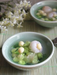 Vietnamese Dessert, Vietnamese Cuisine, Vietnamese Recipes, Asian Recipes, Ethnic Recipes, Sweet Soup, Sweet Life, Recipe Using, Main Dishes