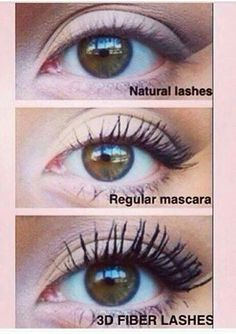 3D Fiber Lash Mascara results!! The pictures speak for themselves! Magic mascara available from www.youniqueproducts.com/kirstyjashforth Find me on Facebook by searching Embrace Your Younique-ness
