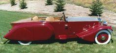 1930 Barker Boattail
