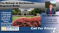http://ift.tt/2aqyh7W Call Lee Ann Basile at 615-967-6265 for More Information and Pricing  The Retreat at Northwoods are Luxury Townhomes located just outside of the Prestigious Northwoods subdivision in Murfreesboro  TN. Murfreesboro is convenient to all of Middle Tennessee  including Nashville  Brentwood  Franklin  and Smyrna.    The Dogwood Model in an End Unit with 3 bedrooms  2 full baths  1 half bath  and 2516 sq ft. Two story townhome with the master on the main floor. This townhome…