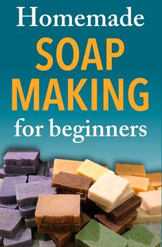 Learn how to make soap with a step by step tutorial on the cold process soapmaking method and a collection of homemade soap recipes to get you started into this exciting new craft!