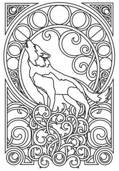 Wolf Nouveau I absolutely love this one!: