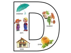 D Alphabet Worksheets, Preschool Worksheets, Beginning Sounds, Dyslexia, Speech Therapy, Montessori, Puzzle, Language, Classroom