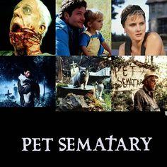 Pet Sematary (1989) Top Movies, Scary Movies, Horror Movies, Imdb Movies, Films, Free Hd Movies Online, 17 Kpop, Pet Cemetery, Streaming Movies