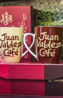 Mug set of 2 Beige and brown | Juan Valdez® Café